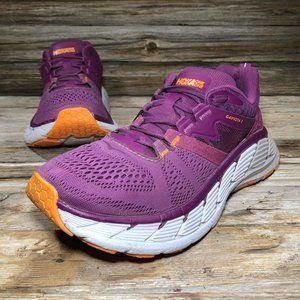 Hoka One One Gaviota 2 Pink Running Shoes Women 7